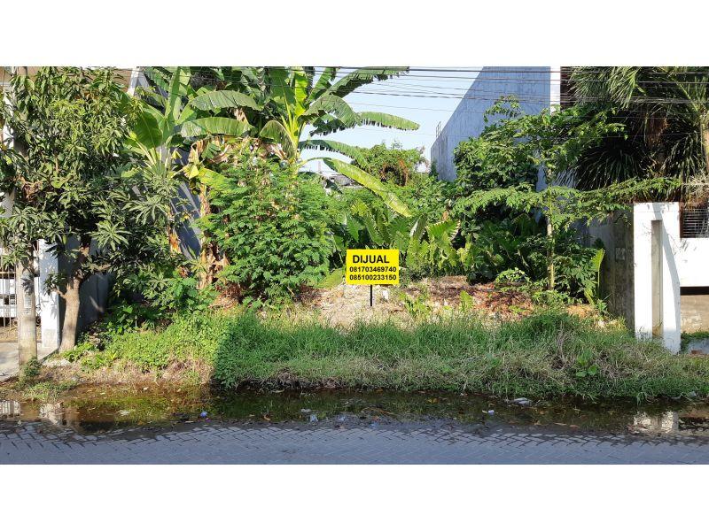 Tanah Mojoklanggru Kidul Row 3 mobil Dekat Unair Karang Menjangan
